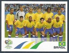 PANINI FIFA WORLD CUP-GERMANY 2006- #378-BRAZIL TEAM PHOTO