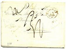 NEDERLAND 1835  BRIEF MET LUXE LANGST =ZWAMMERDAM=(PROV ZEELAND)