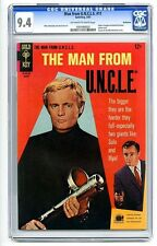 CGC (GOLD KEY) THE MAN FROM UNCLE #11 NM 9.4 BETHLEHEM 1967 U.N.C.L.E ***