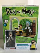 McFarlane Toys Rick and Morty Evil Rick And Morty Construction Set 98 pieces New