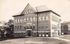 Williamsburg Iowa~High School~Fire Escapes~Buildings Behind~1921 Real Photo~RPPC