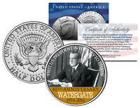 RICHARD NIXON * Resignation WATERGATE Anniversary * 2014 JFK Half Dollar US Coin