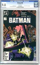 Batman #406 CGC 9.8  NMMT White Pages Year One Part 3