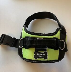 Pug Life Dog Harness Size Medium