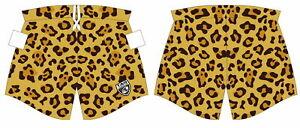Official Tag Cheetah Print Tights