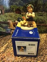 GOEBEL HUMMEL:  MORNING CALL #2344 HUM #2227 W/ORIGINAL BOX