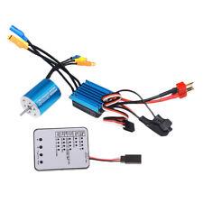 1/18 RC Buggy 4P 2430 7200KV Sensorless Brushless Motor+25A ESC Combo Set