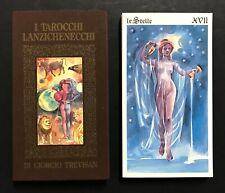 Vintage Tarocchi Lanzichenecchi Tarot Cards Giorgio Trevisan Lo Scarabeo
