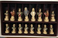 SAC Lord Of The Rings Chess Set - Rare - Hand Painted