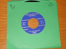 """POP 45 RPM - GERALD & MUSIC MASTERS - MANSFIELD 607 - """"I HIT THE JACKPOT"""""""
