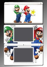 New Super Mario Bros 3D Land World Luigi Video Game Skin Cover Nintendo DS Lite