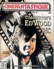 CINEFANTASTIQUE V25 #5 (Oct 94) Tim Burton * E.Scissorhands * Star Trek 7