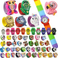 Wacky Watches Kids Child's Children's Snap On Slap Band Toys Animal Strap