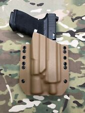 Coyote Tan Kydex Holster for Glock 19 23 Threaded Barrel Surefire X300 U-A