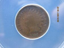 1870 INDIAN HEAD CENT ANACS Certified G-4