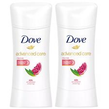 (2) Packs Dove Advanced Care Anti-Perspirant Deodorant, Revive  Go Fresh 2.6 oz