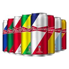 China 2018 Budweiser Beer Russian football World Cup Aluminum 500ml Empty can