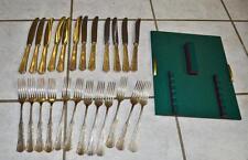 Silberbesteck WMF Zwilling Friodur 90/45 er Silberauflage 24 teilig