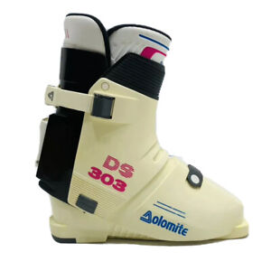 Vintage Dolomite DS 303 Ski Boots Made in Italy 310mm Size 27 DIN 7880