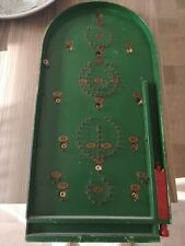 Vintage Chard Valley Works Bagatelle Game with Original Ball Bearing