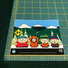 New Vintage South Park Group Characters Comedy Central 1997 Sticker Decal