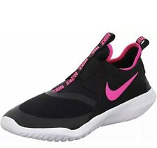 Nike Flex Runner Trainers Running Gym Sports Shoes Black Pink UK 5.5 New Boxed