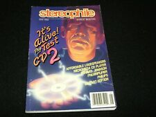 STEREOPHILE MAGAZINE <>MAY 1992 <> MICROMEGA CD PLAYER-CONRAD-JOHNSON PREAMP.