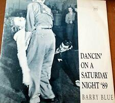"New listing Barry Blue 1989 Vinyl 12""- Dancing On A Saturday Night Remix Vintage Retro Club"