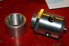 "SHORROCK C75/C142 supercharger relief valve-NEW with 3/4"" BSP collar/mounting."