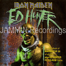 IRON MAIDEN - Ed Hunter [ECD] 3 DISC SET - 2 CD AND 1 GAME CD