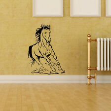 Horse Wall Decal Running Horse Wall Decor Living Room Animal Bedroom Decal Horse