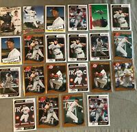 HUGE 22 Card Baseball Lot 2020 Topps Archives Red Sox Ted Williams, Ortiz, More