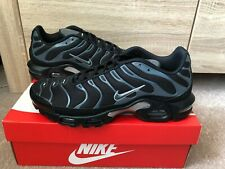 100% Original Nike Air Max Plus Tn Tuned  1 Haifisch Gr. 44 Schwarz NEU