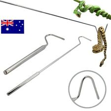 AU Retractable Snake Rod Stainless Steel Hook Professional Reptile for Snake