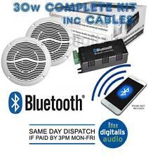 Sistema De Altavoz Bluetooth a prueba de agua de Montaje en Techo para Baño O Cocina Kit
