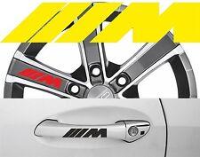 4 x Türgriff- Felgen Aufkleber BMW M 001 #1337