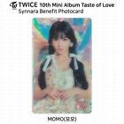 TWICE 10th Mini Album Taste of Love Official Photocard Momo KPOP K-POP
