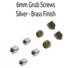Grub Screws for Spindle Door Handles / Knobs, Metal, Parts - 6mm Multipack