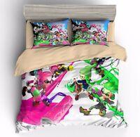 3D Print Splatoon Game Bedding Set Duvet Cover Sets Quilt Cover Pillow Sham
