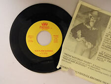 H.R.Cook 45 w/pic.insert Texas Saturday Night / Old Flame Burning~M-Virginia c+w