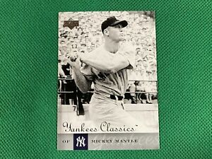 2004 UD Yankees Classics #81 Mickey Mantle New York Yankees
