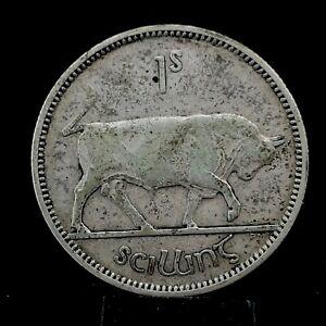 IRELAND 1935 Irish Silver  Shilling KM #6