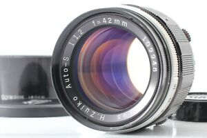 """""""Near Mint+++"""" Olympus H.ZUIKO Auto-S 42mm f/1.2 Lens For PEN F FV FT From JAPAN"""