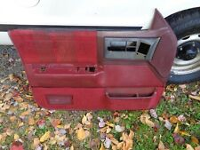 Red Interior Door Panels Parts For Chevrolet S10 For Sale Ebay