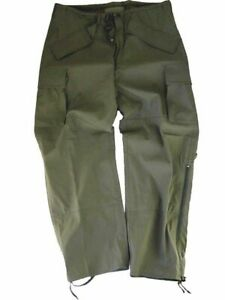 MVP RAIN OVER TROUSERS USA Olive Green ECWS STYLE  WATERPROOF M-L  New