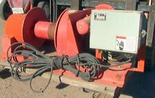3 hp 3600 pound 2nd layer rating Thern Model 489A3Bc Industrial Electric Winch