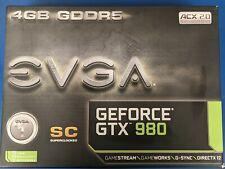 EVGA GeForce GTX 980 SC 4GB GPU (04G-P4-2983-KR) graphics card