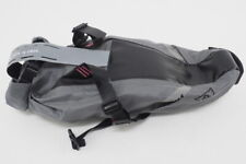 New! Woho Bicycle XTOURING Saddle Bag DRY S Iron Grey / Pink w/ stabilizers
