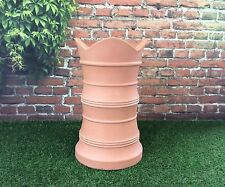 Chimney Pot Georgian Style Garden Planter Terracota /  flower patio tub display