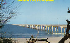 postcard USA Virginia Chesapeake Bay Bridge - Tunnel  unposted